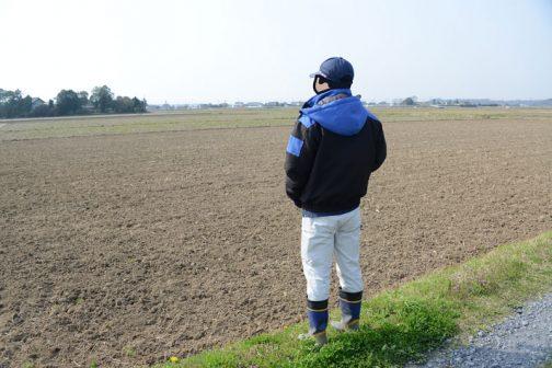農用地の点検。「遊休農地はないだろうなー」なんて気持で眺めます。