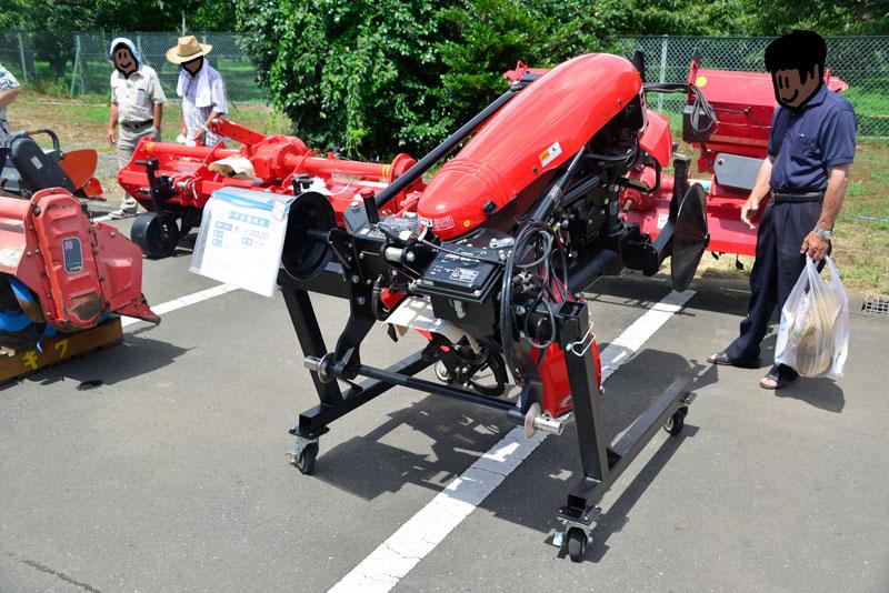 コバシ あぜぬり機 XRV871T-0L 中古価格¥1,393,200 製造年 平成29年 備考 1回のみ使用