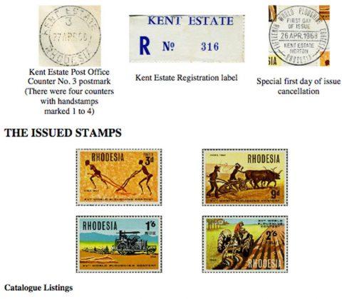 ローデシアで開催され、このFIATが優勝した1968年、大会を記念して切手が発行されたようです。大変なものですね!