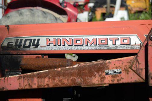 tractordata.comでは日の本E404は1979年- 1982年となっています。以前見た日の本E324と一緒ですね。
