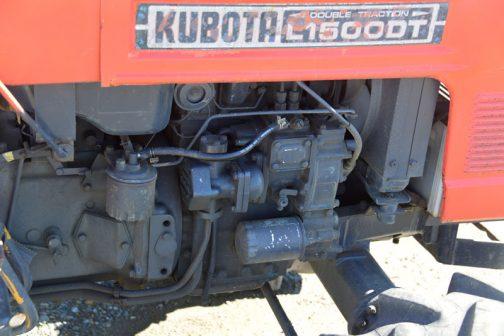 L1500DTエンジン部分