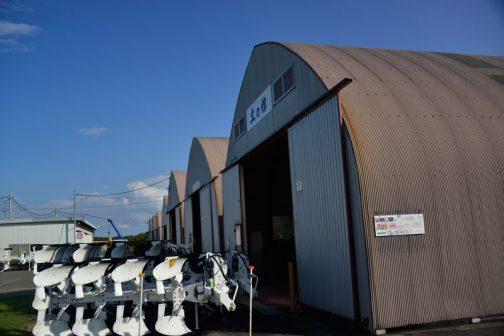 ここには北海道上富良野町にあるスガノ農機の『「土の館」 土と犂の博物館』の分館?があります。