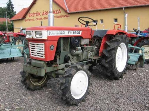 ネットで探してきたYM1500Dです。「かなりヤンマーの子」になっているとは思いますが、やはりどこかに協和農機の面影が残っていますよね!