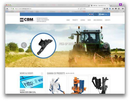 調べてみると出てきました。「CBM Group」イタリア・モデナの会社です。それ以外はよくわかりませんでした。