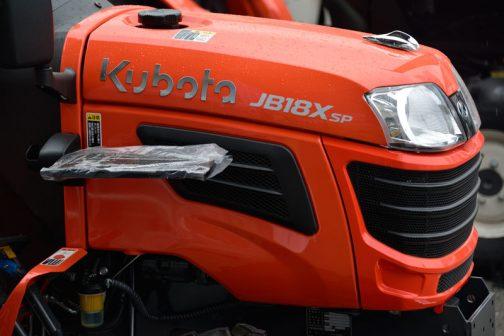 クボタ・ブルスターエクストラJB18XSPBSMAGRF3 モノが小さいだけにメーカー名などが相対的にデカい!