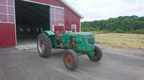 こちらはエンジンの修理が終ったと、Rさんに送ってもらったドイツD40Lの写真です。