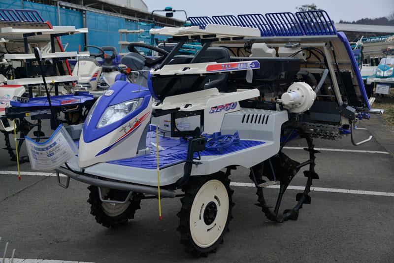 イセキ 田植機 NP50VLFS 中古税込価格 ¥1,600,000 使用時間15時間 製造年 2018年