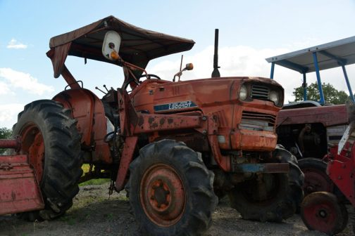 クボタL3001DTです。L3001DTは2台目・・・ 農研機構の登録では1976年になっています。