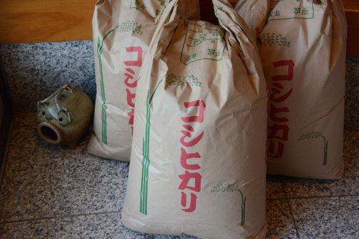 紙なのにリユース可。実は三枚重ねの米袋も当然大好きで・・・