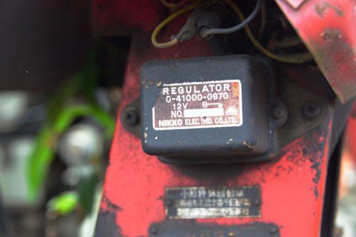 日興電機のレギュレーター。色々な機種で見かけます。