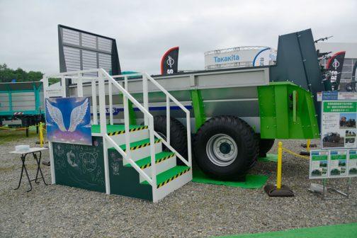 STAR 大型ハイドロマニュアスプレッダー THM13000W【堆肥散布】です。