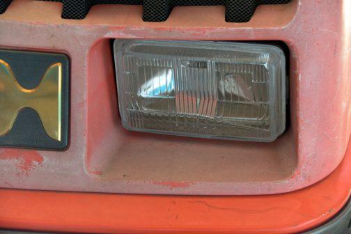 CX18のヘッドランプをチェックします。