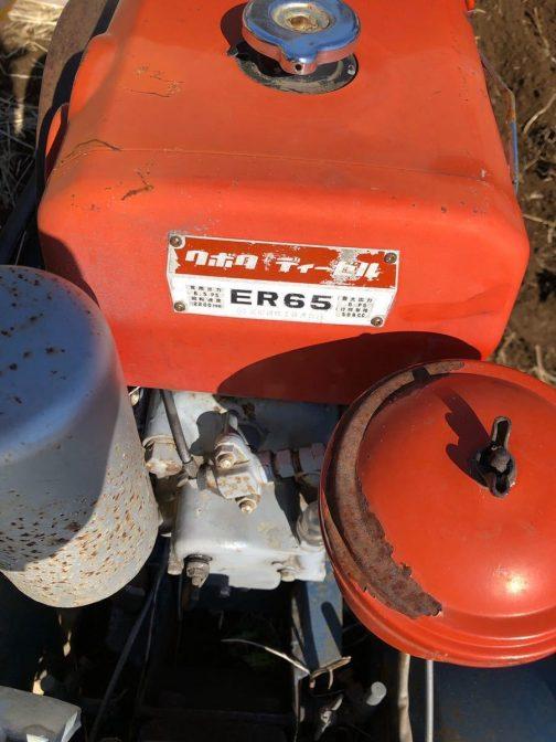もしかしたらエンジン単体だとこのようにER65型と表記され・・・