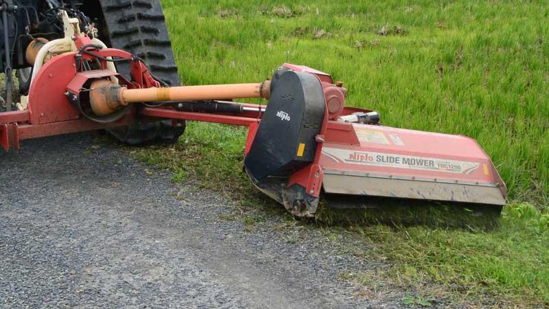 この先のお天気次第、雑草の伸び具合次第ですが、今年の草刈りはあと1回ですかねぇ・・・