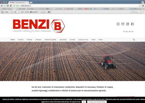 イタリアの会社。農業用機械のトランスミッションを主に作っているみたい・・・