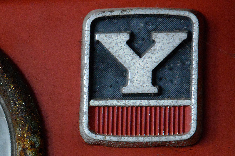 YM173のエンブレムです。
