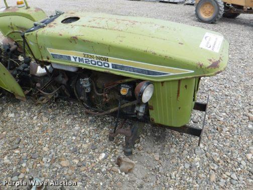 さらにもう一つ見つけました。オークションで売られている緑のYM2000です。