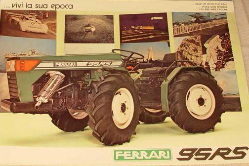 おそらく80年代に入ってのものだと思います。日本の流れにもあったカクカクスタイル。フェラーリ95RSです。