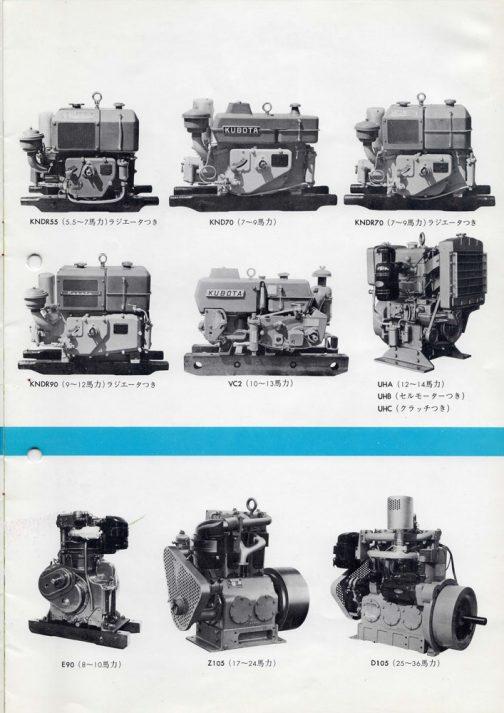重機に載るような形のエンジンもあります。