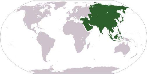 アジア 広義の東洋